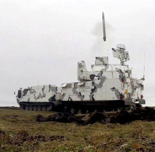 Sistema de defensa antiaérea Tor-M2DT