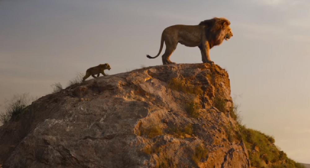 Mufasa, en la nueva película del 'Rey Leon' (captura de pantalla)