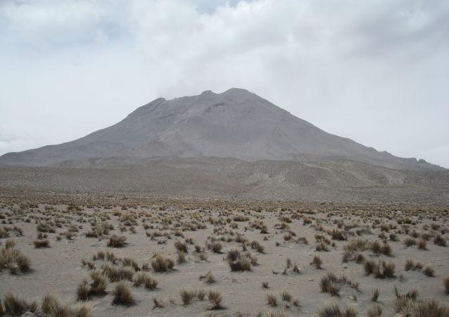 Volcán Ubinas en Perú