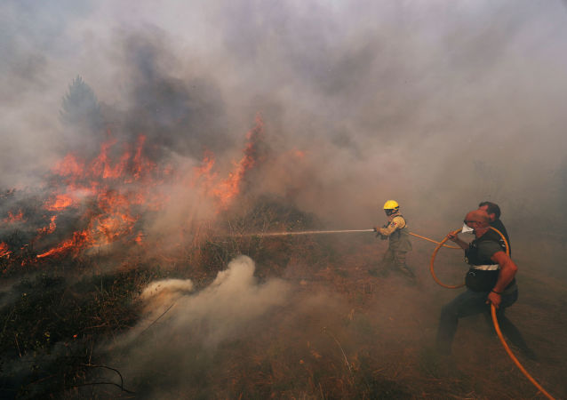 Incendios forestales en Portugal
