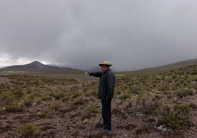 Volcán Ubinas, Santiago de Machaca, Bolivia