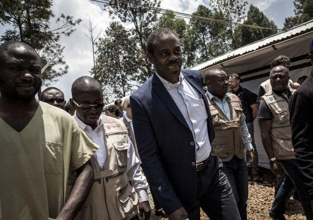 Oly Ilunga Kalenga, ministro de Sanidad de la República Democrática del Congo (RDC) (archivo)
