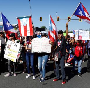 Protestas en San Juan, Puerto Rico