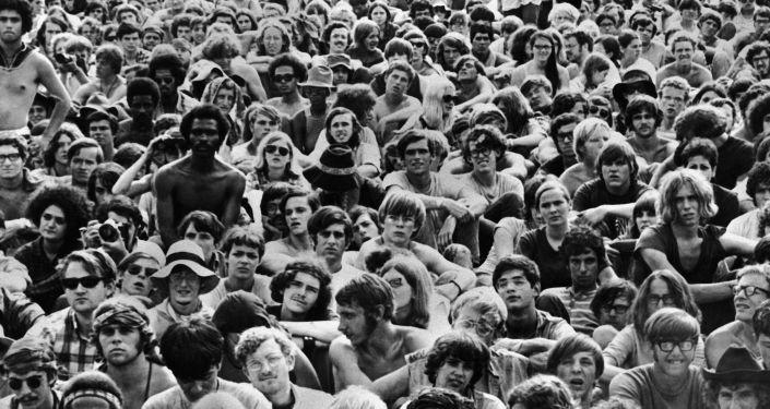 Festival de Woodstock en 1969