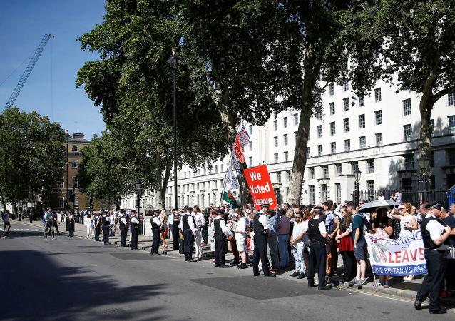 Protestas en Londres