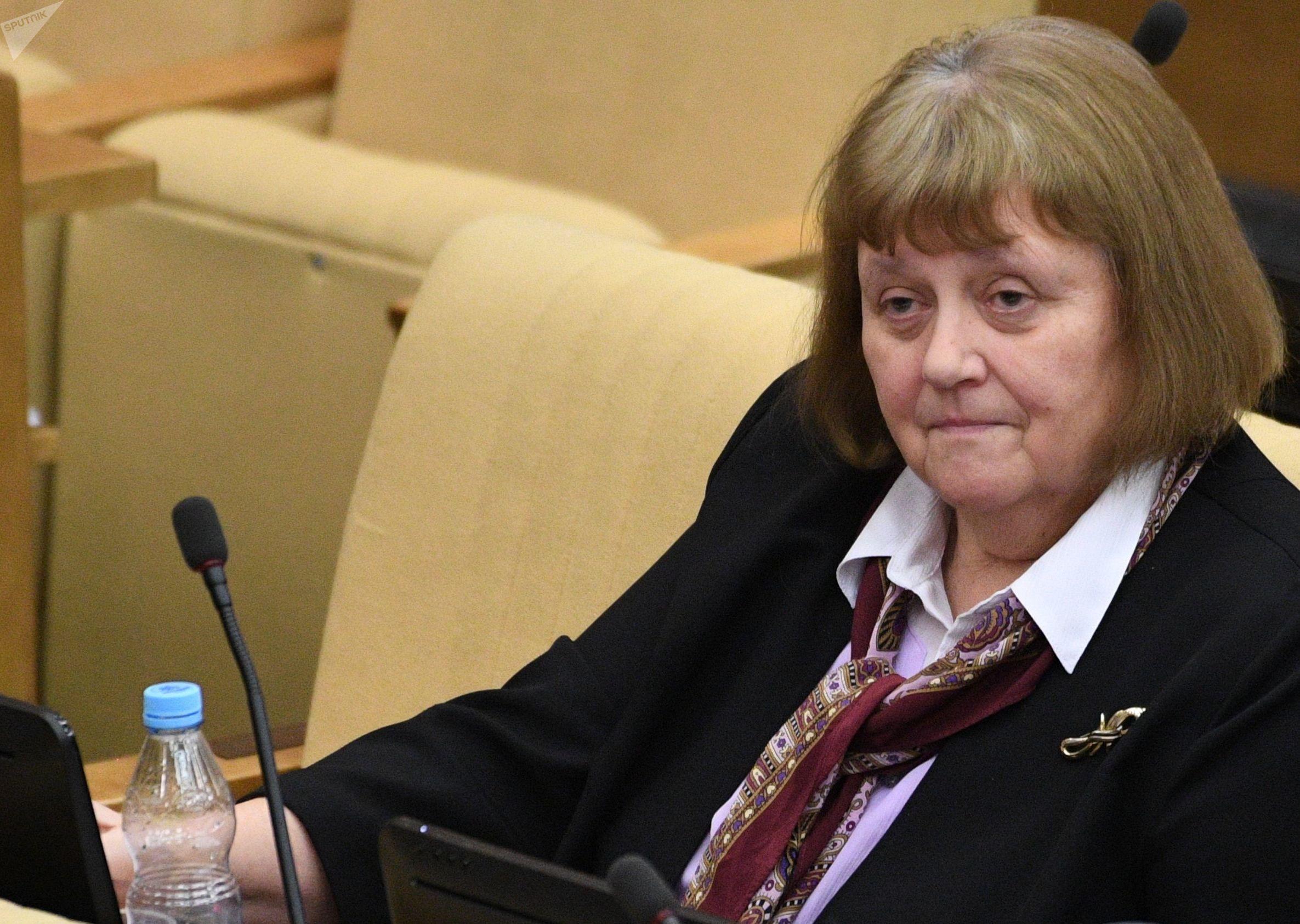 Svetlana Savítskaya en la Duma Estatal de la Asamblea Federal de Rusia