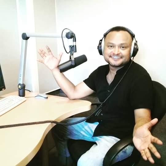 Marvin el los estudios de Radio Sputnik