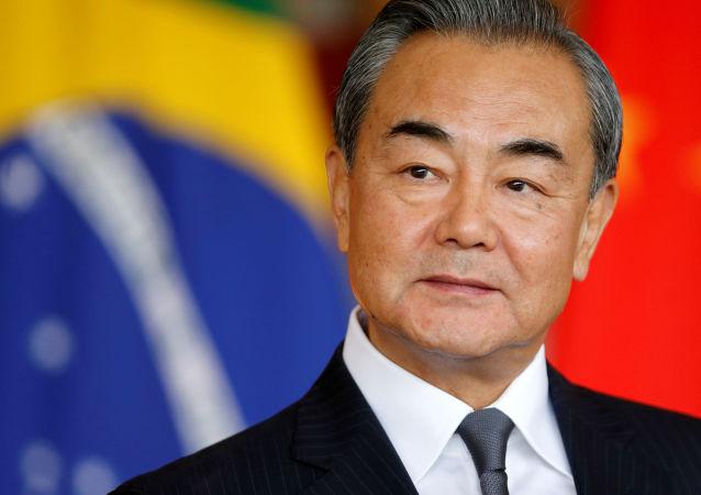 Wang Yi, ministro de Relaciones Exteriores de China