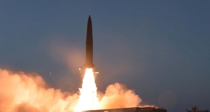 El misil de corto alcance ensayado por Corea del Norte