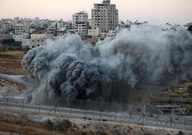 Demolición de viviendas por Israel en Cisjordania