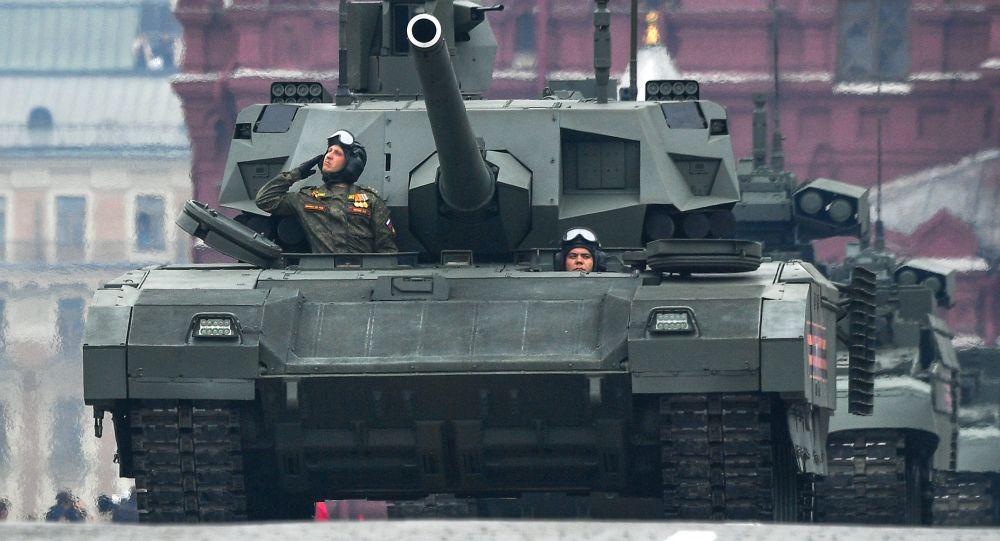 Tanque ruso T-14 Armata