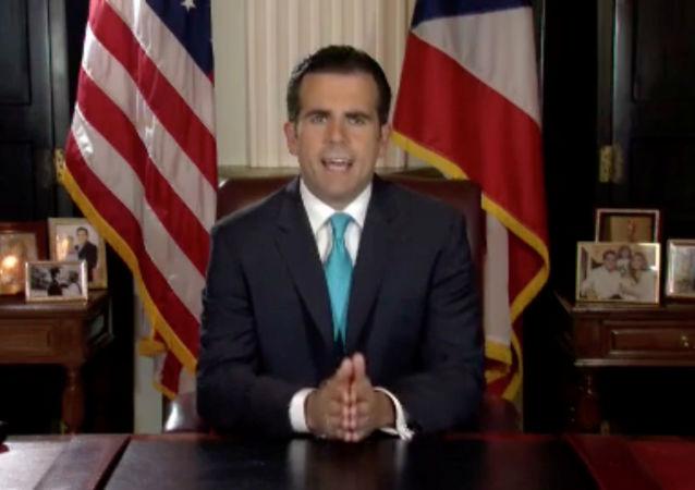 Ricardo Rosselló, gobernador de Puerto Rico
