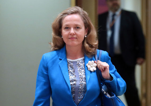 Nadia Calviño, ministra de Economía de España