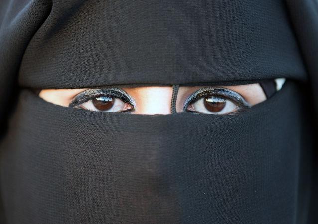 Mujer con hiyab