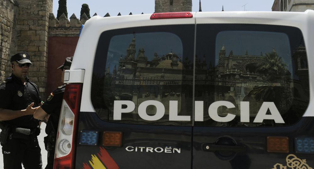 La policía nacional de España (archivo)
