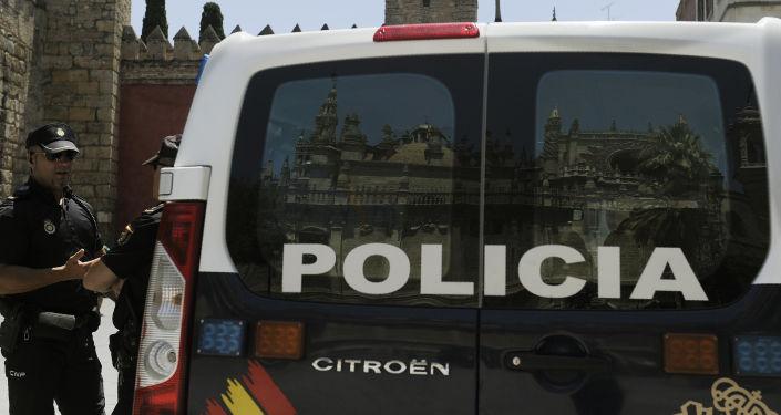 La policía nacional de España