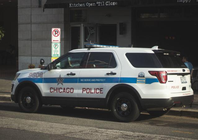 Coche de la Policía de Chicago, EEUU