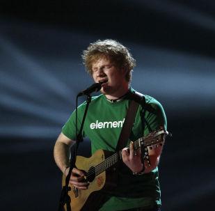 El cantante Ed Sheeran