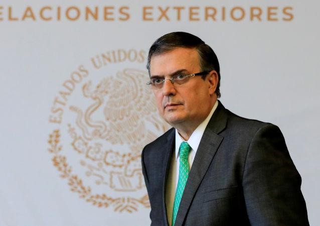 Marcelo Ebrard, canciller de México