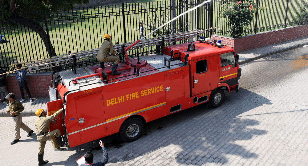 Bomberos de Nueva Delhi, La India