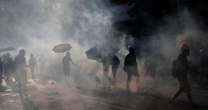 Protestas en Hong Kong