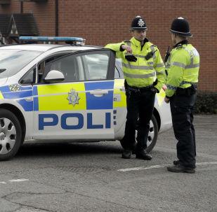 Policía británica cerca de la casa de Serguéi Skripal, Salisbury, Reino Unido (archivo)