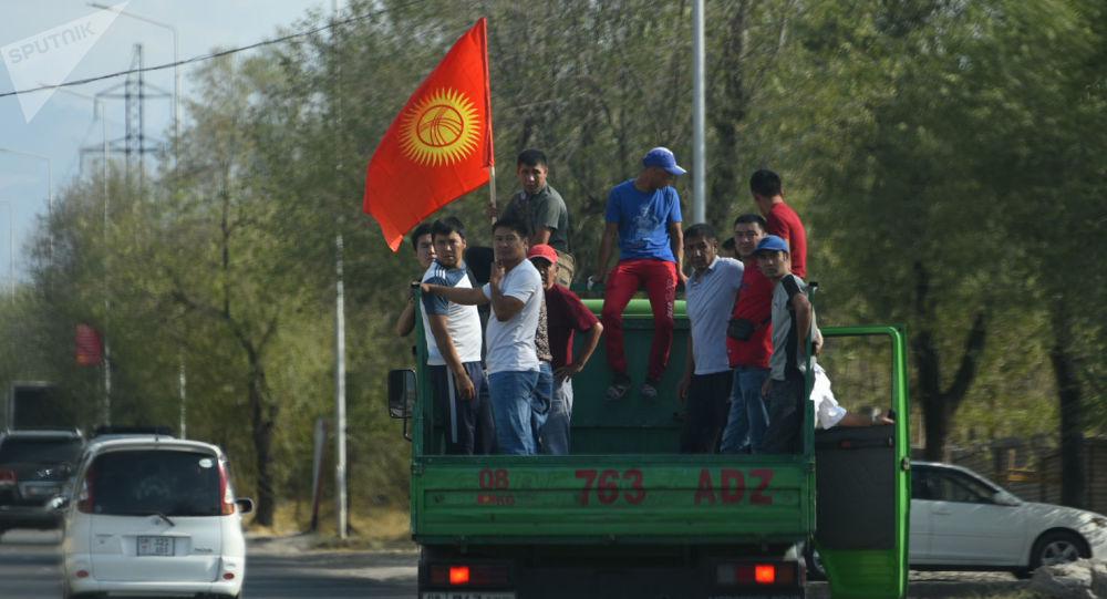 Los partidarios del el expresidente kirguís Almazbek Atambáev
