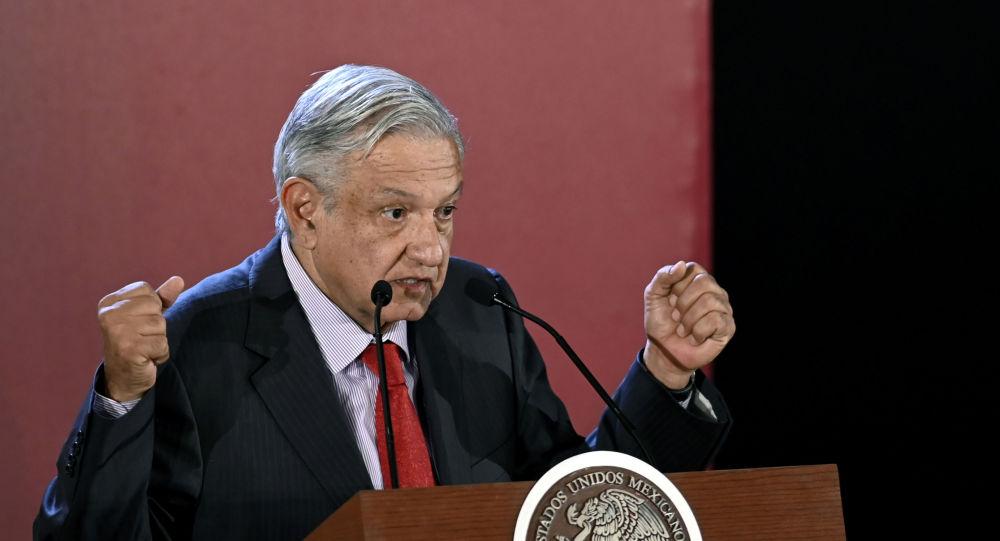 El presidente mexicano Andrés Manuel López Obrador