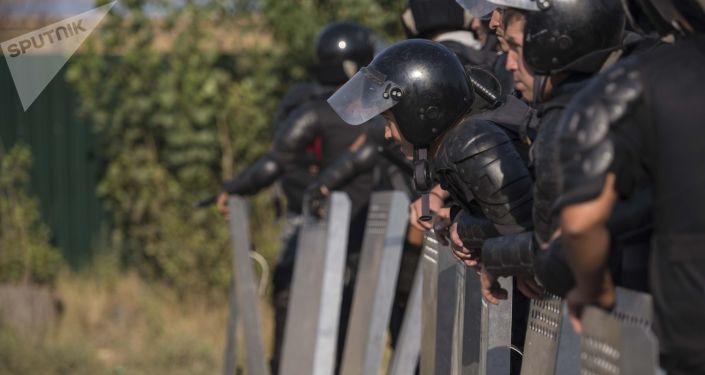 Policía de Kirguistán