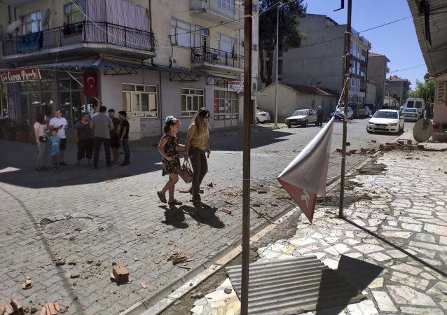 Daños por terremoto en Turquía