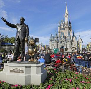 El parque de Disney en Orlando, EEUU
