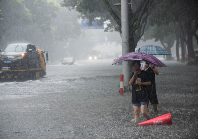 Tifón Lekima en China