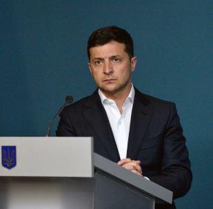 El presidente ucraniano, Volodímir Zelenski