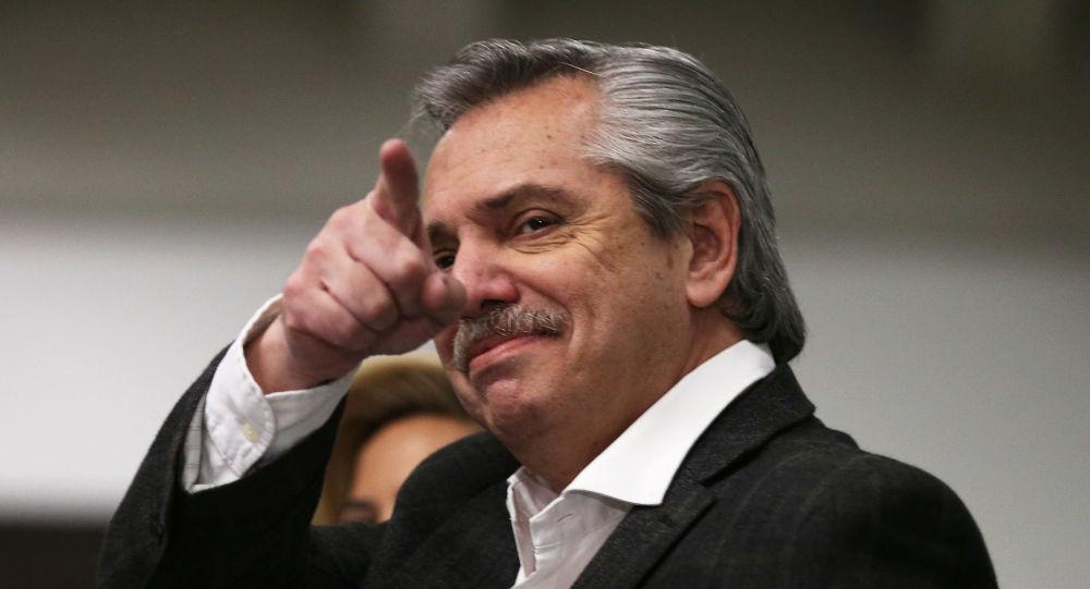 Alberto Fernández, precandidato presidencial de Argentina