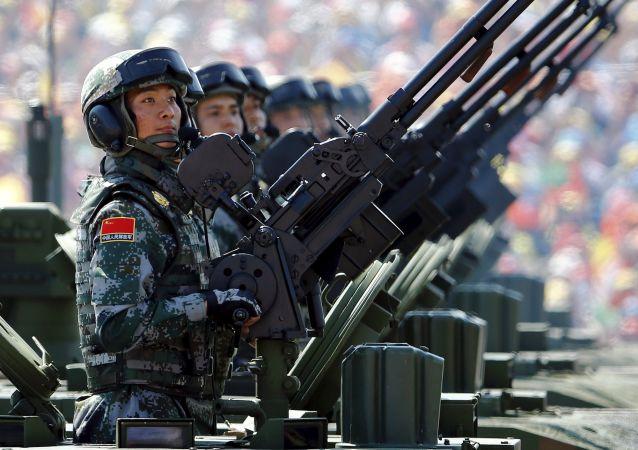 Soldados del Ejército de China