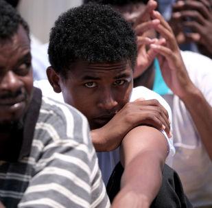 Los migrantes ilegales de Sudán
