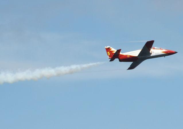 Un avión español (imagen referencial)