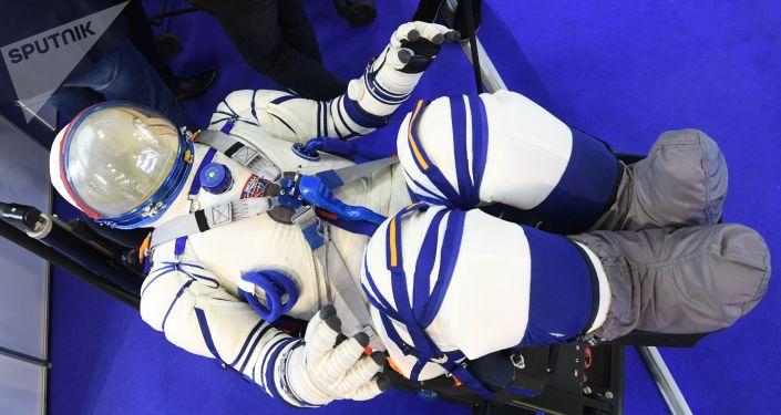 El nuevo traje espacial Sokol-M
