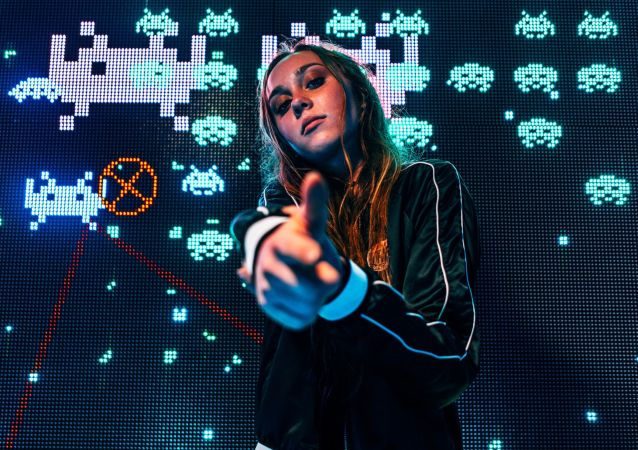 Una 'gamer', imagen referencial