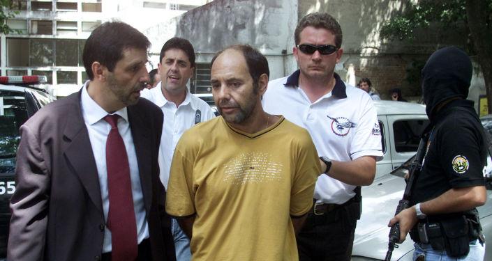 El exguerrillero Mauricio Hernández