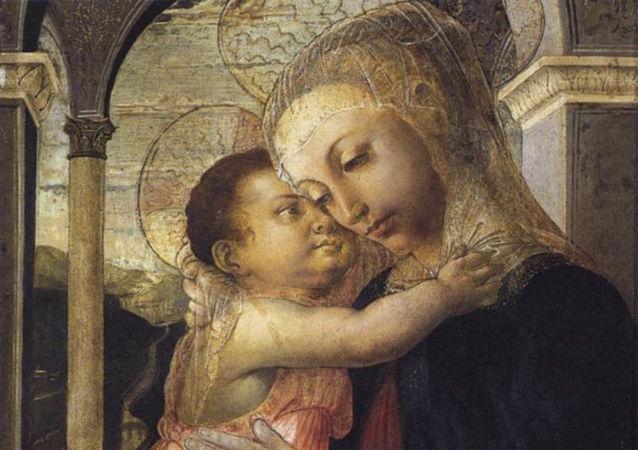 La 'Virgen de la galería', obra del Sandro Botticelli