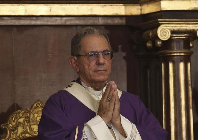 El Arzobispo de La Habana, monseñor Juan de la Caridad García Rodríguez