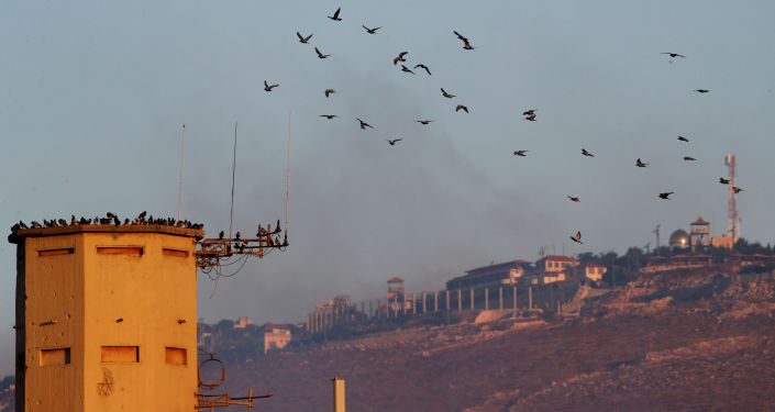 La frontera entre Israel y Líbano