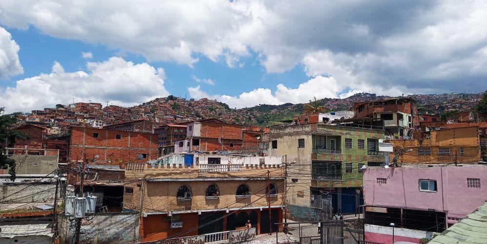 El barrio donde hace vida la Comuna Victoria Socialista, en Caracas, Venezuela