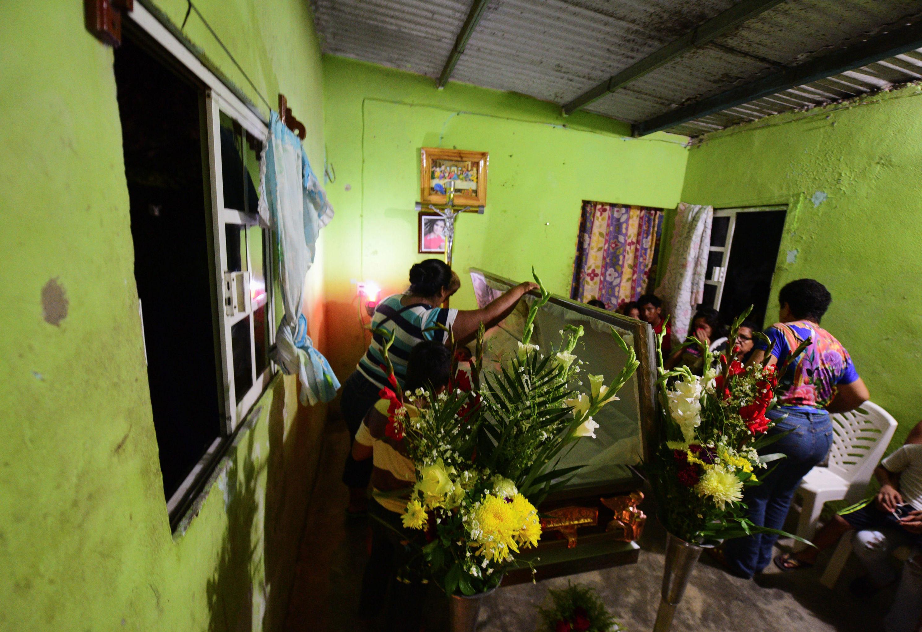 El funeral de Xóchitl Nayely Irineo Gómez