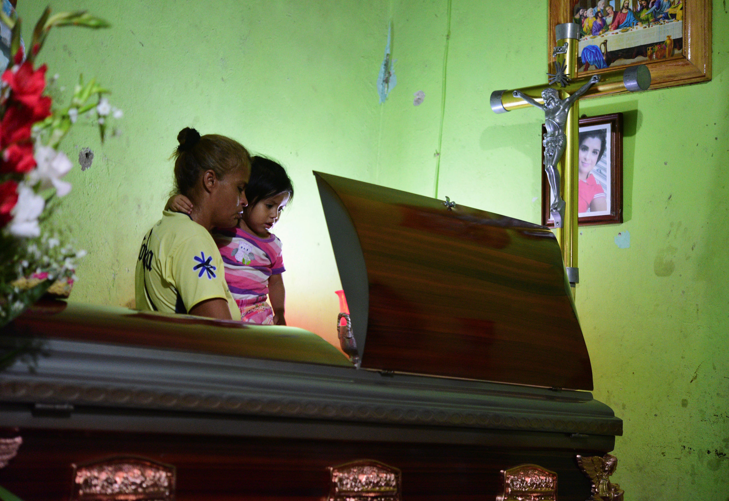 La madre y la hija de Xóchitl Nayely Irineo Gómez