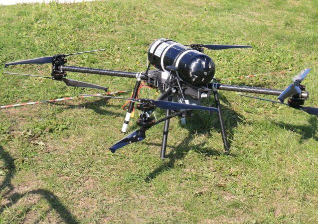 Un dron que propulsado por hidrógeno