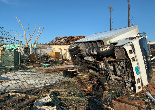 Consecuencias de huracán Dorian
