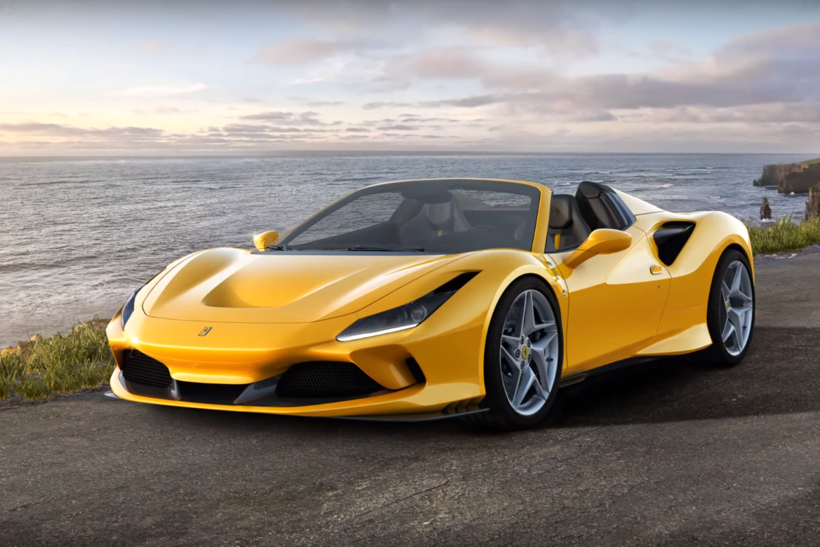 El frontal del nuevo V8