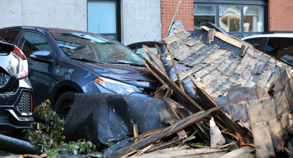 Las consecuencias del huracán Dorian en Nueva Escocia, Canada